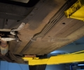 1984 M-B 380SL undercarriage (7)