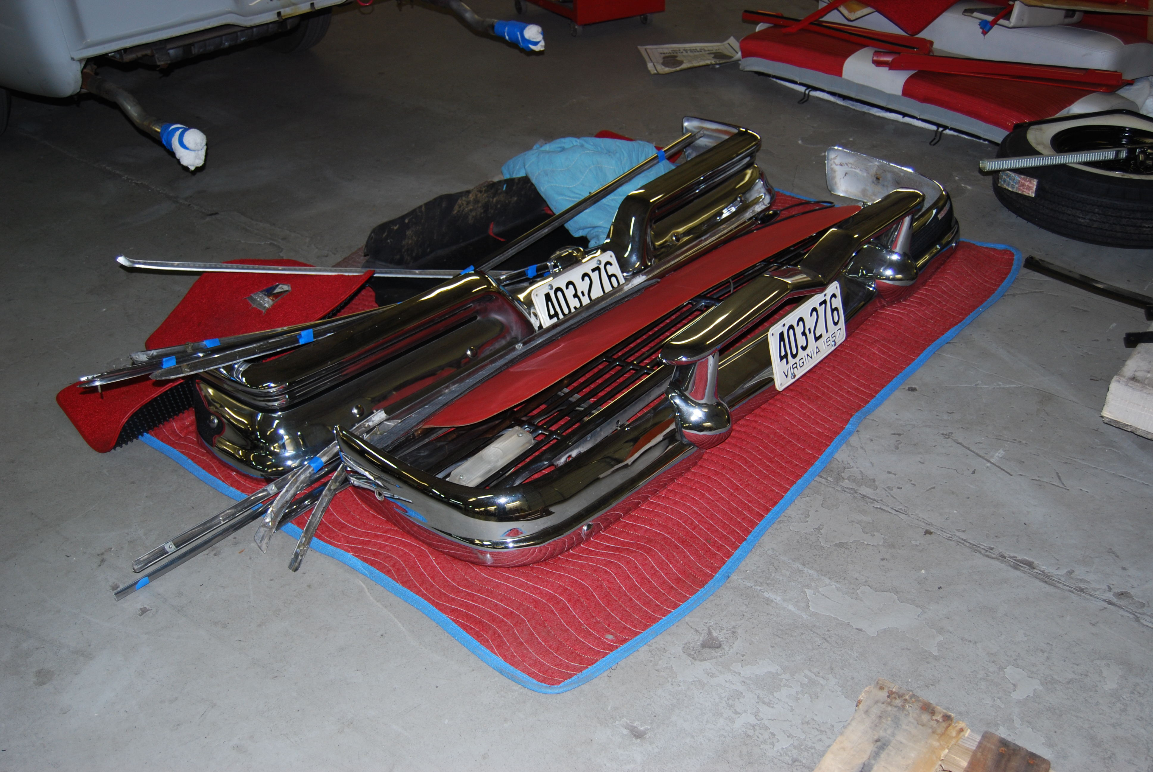 1957 Ford Fairlane 500, Color Change – Classic Car Center